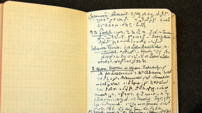 Tagebücher von Kardinal Faulhaber, Erzbischöfliches Archiv