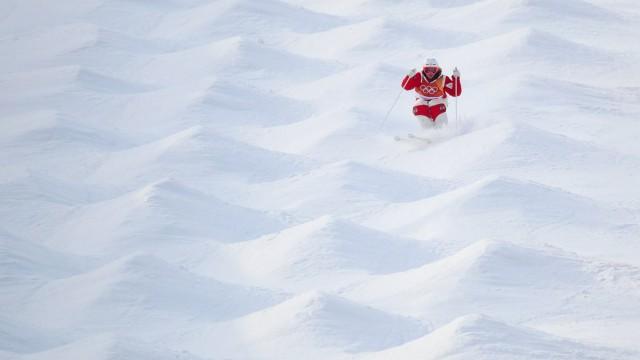 OLYMPICS 2018 Winter Olympics PYEONGCHANG SOUTH KOREA 09 FEB 18 OLYMPICS FREESTYLE SKIING Olym; Buckelpiste Österreich Melanie Meilinger