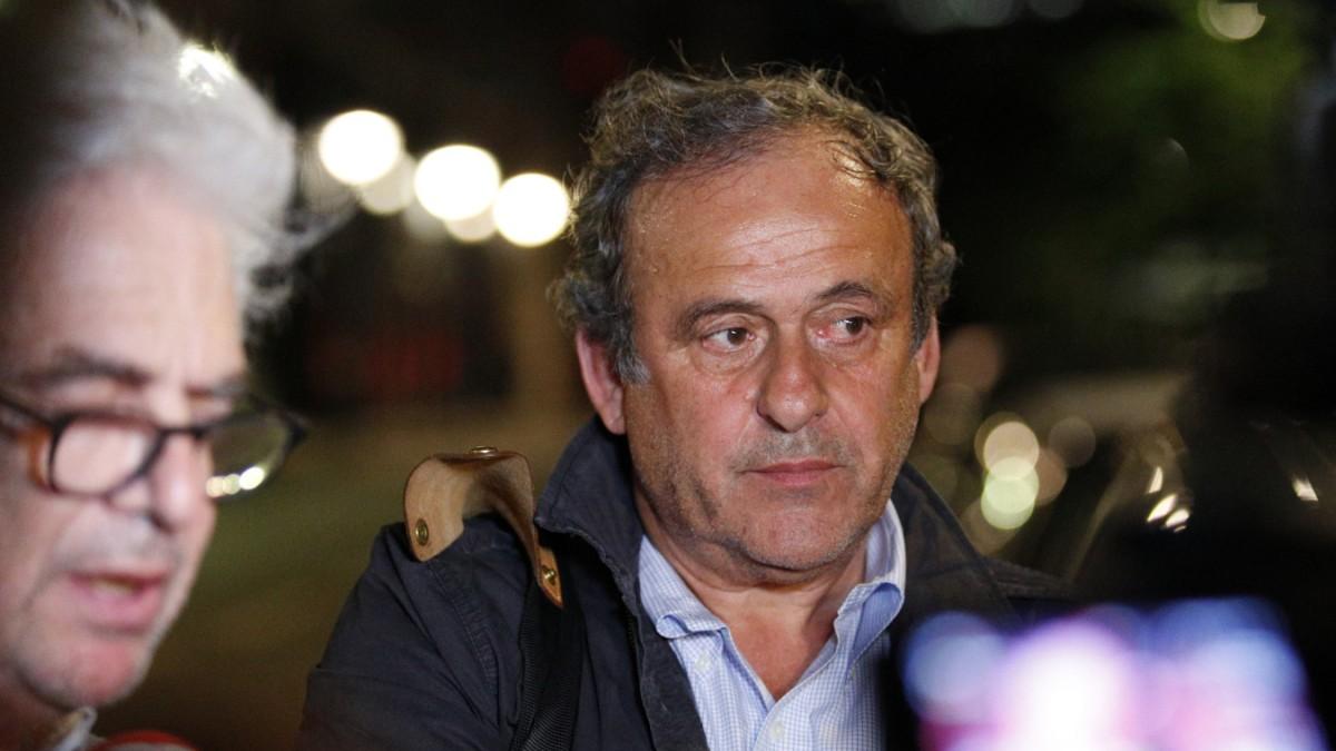 Michel Platini ist wieder auf freiem Fuß