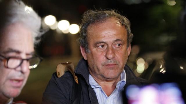 Michel Platini Justiz