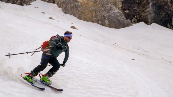 Figln Skifahren Firn Firngleiter