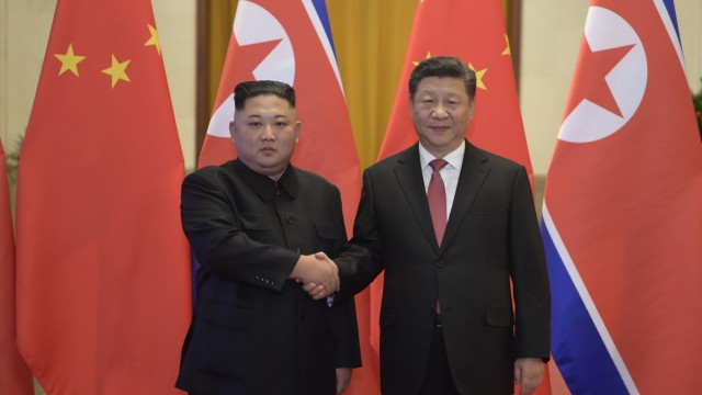 Machthaber Kim besucht China
