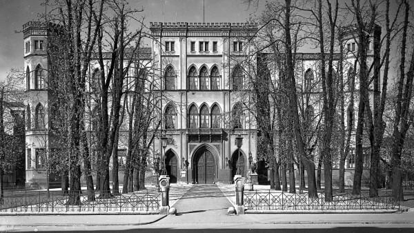 Das Gestapo-Hauptquartier in der Briennerstraße in München