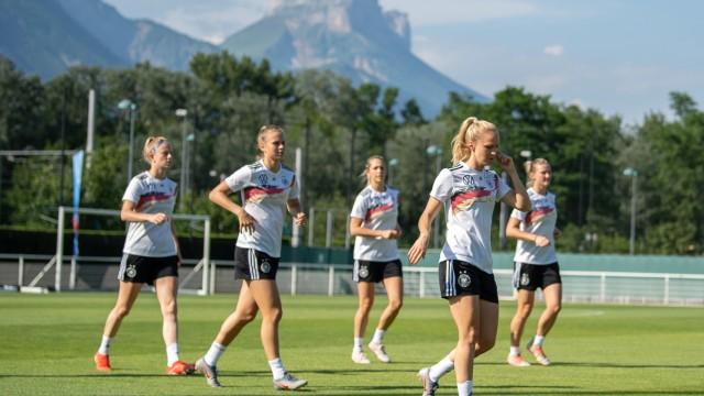 Frauenfußball-WM - Training