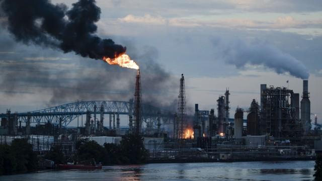 Raffineriebrand in den USA