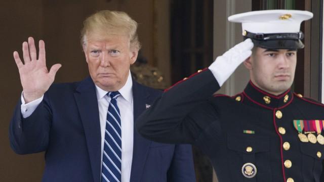 Bericht:Trump soll Luftangriffe auf den Iran freigegeben haben