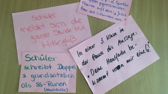 Schule Rechtsmotivierte Straftaten an sächsischen Schulen