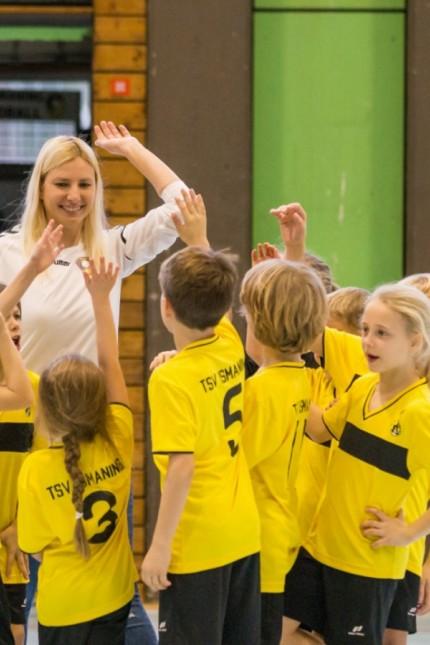 TSV Ismaning Handball Nachwuchs Talentiade