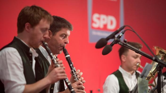 SPD-Veranstaltung im Festzelt Trudering mit Sigmar Gabriel