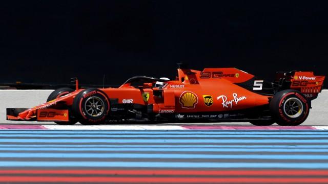Grand Prix von Frankreich - Freies Training