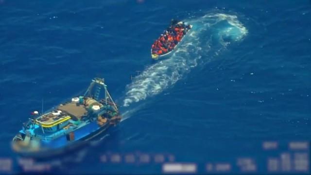 Bootsflüchtlinge Mittelmeer