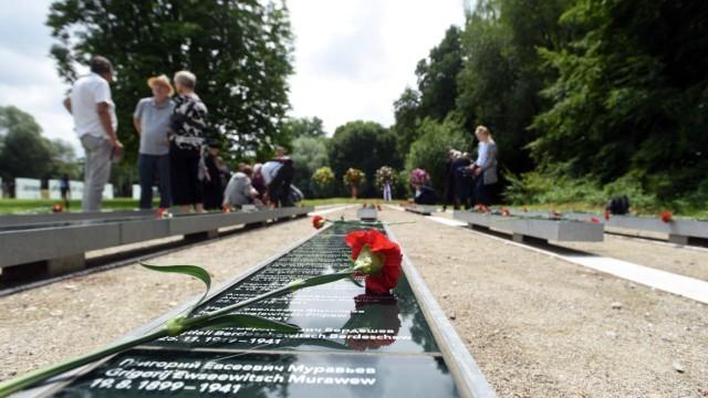 Dachau Gedenkfeier am ehemaligen SS-Schiessplatz