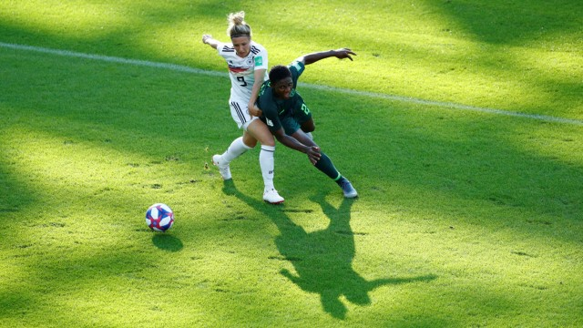 Women's World Cup - Round of 16 - Germany v Nigeria