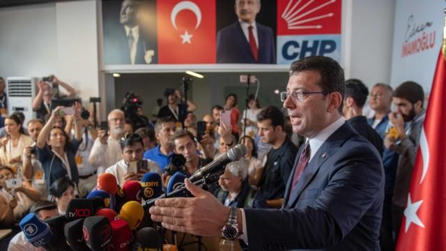 Politik Türkei Istanbul