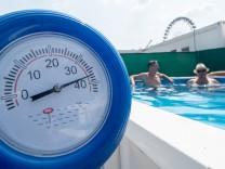 Temperaturen bis 40 Grad - Sonne und Hitze in Bayern erwartet