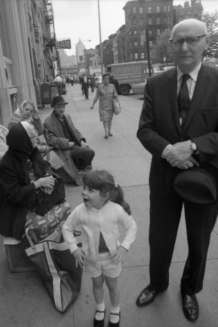 Isaac Bashevis Singer In New York