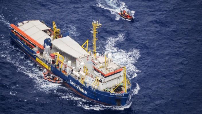 Sea Watch 3 im Mittelmeer