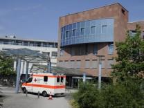 Die Universitätsklinik Homburg Saar am Dienstag 7 7 2015 Im Bild die Frauenklinik