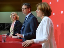 Leadership of Germany's Social Democrats (SPD) meets in Berlin