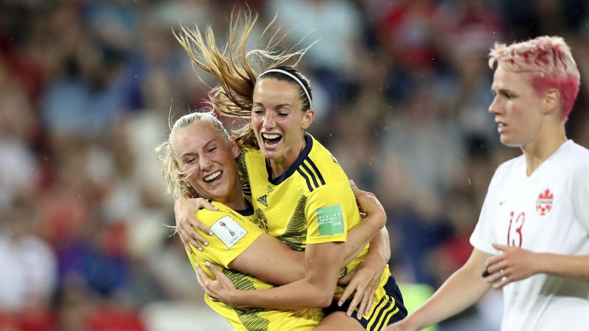 DFB-Frauen treffen im Viertelfinale auf Schweden