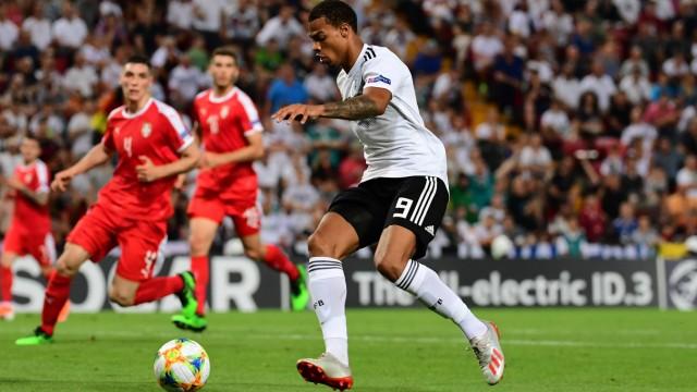 U 21 Fußball Europameisterschaft 2019 Deutschland Serbien am 20 06 2019 im Stadion Nereo Rocco in