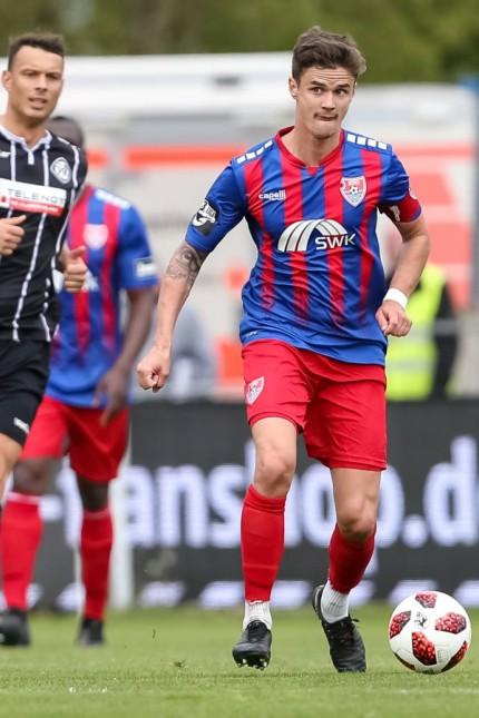 Fußball 3 Liga 35 Spieltag VfR Aalen KFC Uerdingen am 27 04 2019 in der Ostalb Arena in Aalen Ma; Fußball