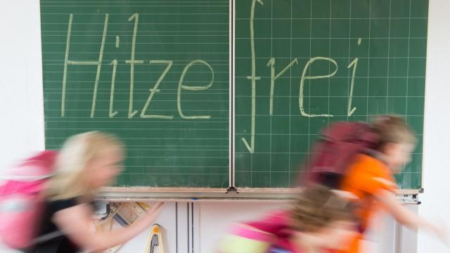 Hitzefrei an NRW-Schulen
