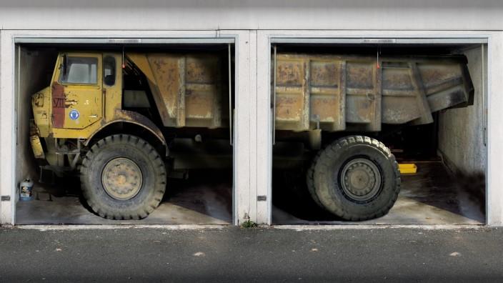 Garagenfolien für die Gestaltung von Garageneinfahrten Foto: style-your-garage.com