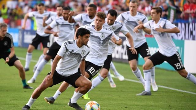 U21-EM 2019 - Das DFB-Team vor dem Spiel gegen Österreich