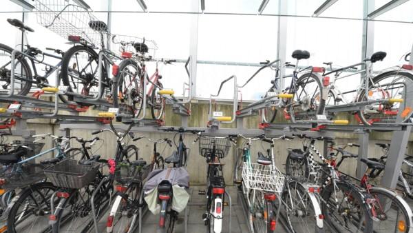 Fahrradstellplätze in München, 2019