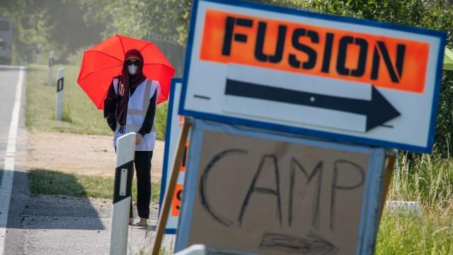 Anreisetag Fusion-Festival 2019