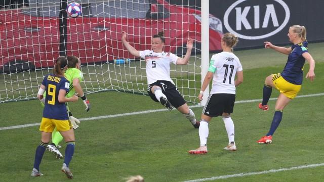 Germany v Sweden: Quarterfinal - 2019 FIFA Women's World Cup France