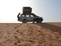 Camping in Oman