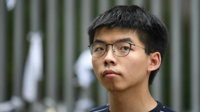 Hongkong - Der Demokratieaktivist Joshua Wong