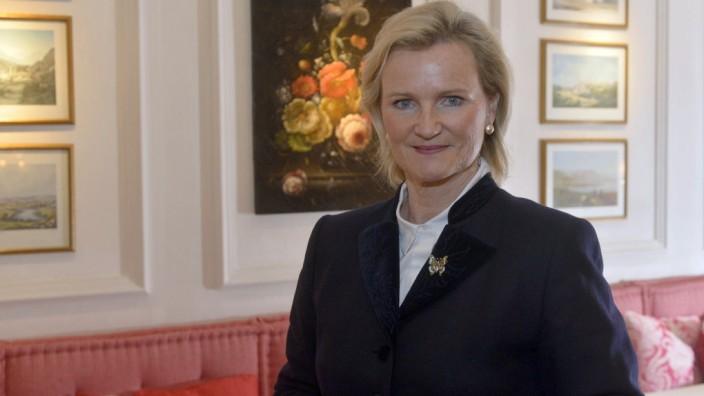 Angela Inselkammer ist die Präsidentin des Bayerischen Hotel- und Gaststättenverbandes