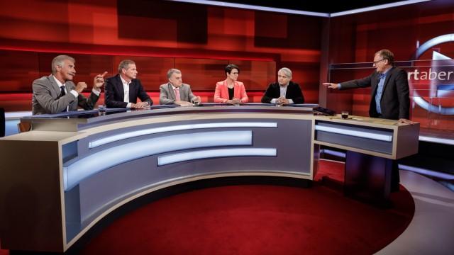 """TV-Kritik AfD-Politiker bei """"Hart aber fair"""""""