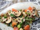 Rezept Fisch Scholle mit Champignons Lauch Tomaten 3