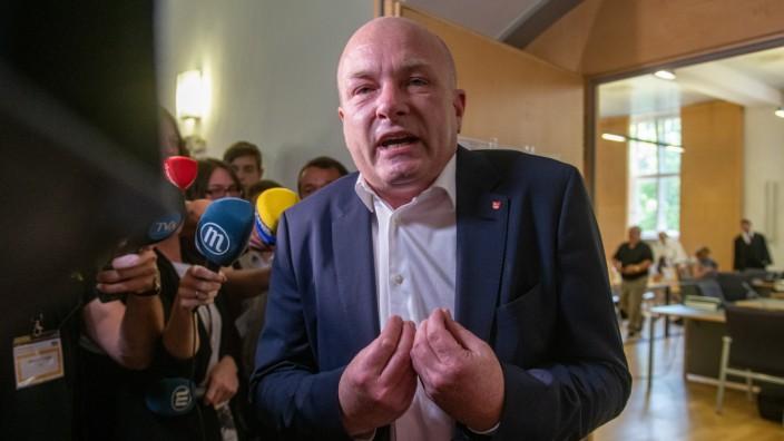 Urteil im Prozess gegen suspendierten Regensburger OB