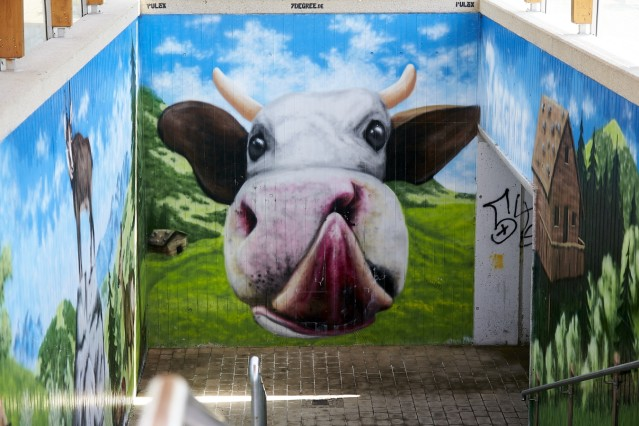 Graffiti Perspektive