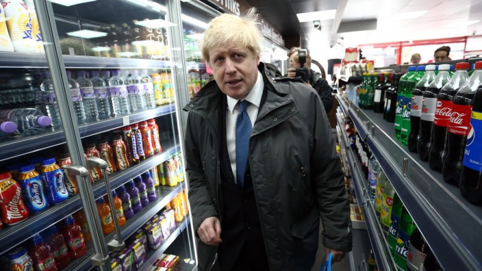 Boris Johnson Launches The Conservative Party London Election Campaign
