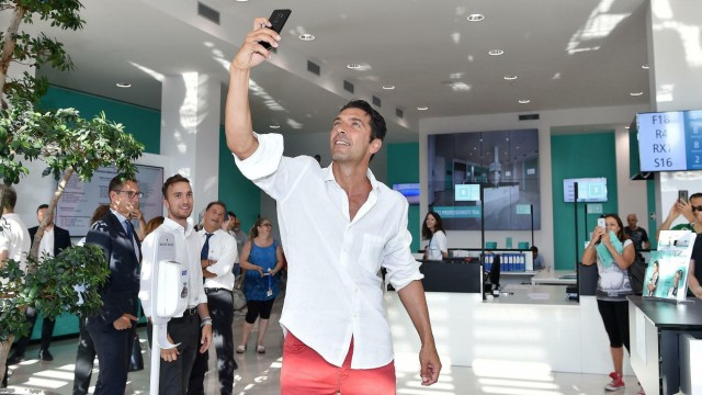Serie A Gigi Buffon bei Juventus