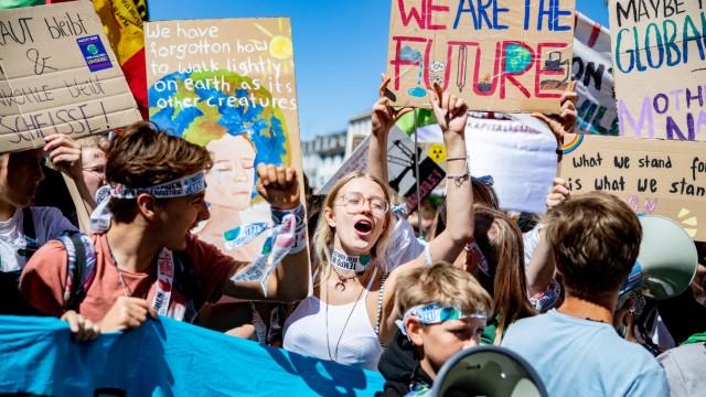 Klimademonstration Fridays for Future - Aachen
