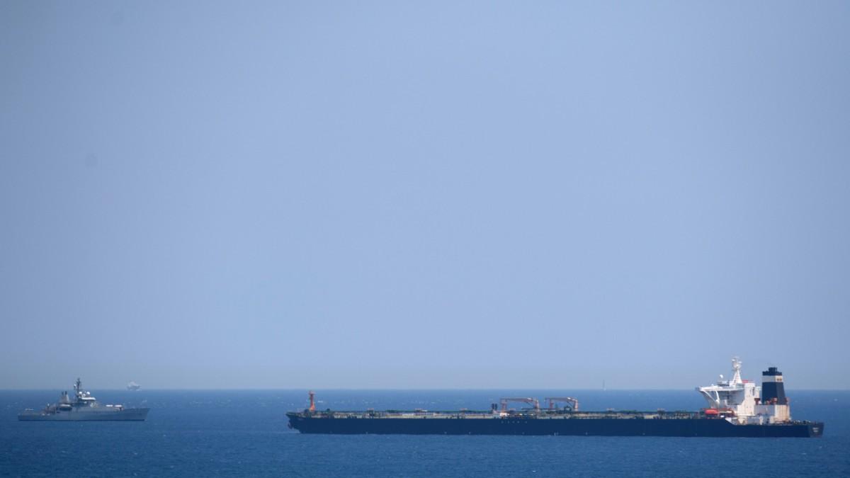 An iranischem Öltanker entzündet sich neuer diplomatischer Streit
