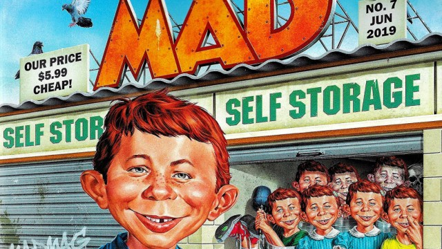 Journalismus Aus vom Mad Magazine