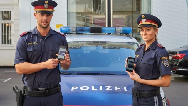 Polizei Polizei in Österreich