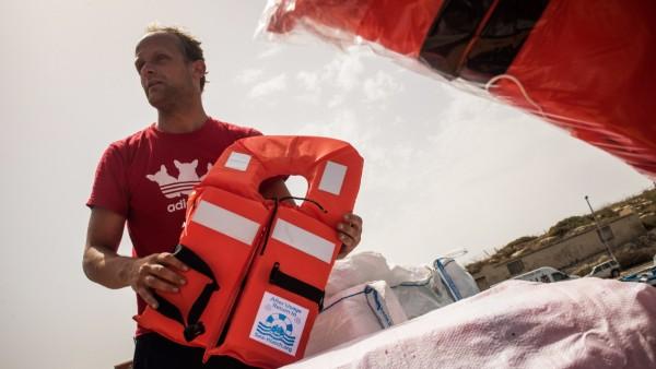 Sea-Watch-Einsatzleiter Philipp Hahn