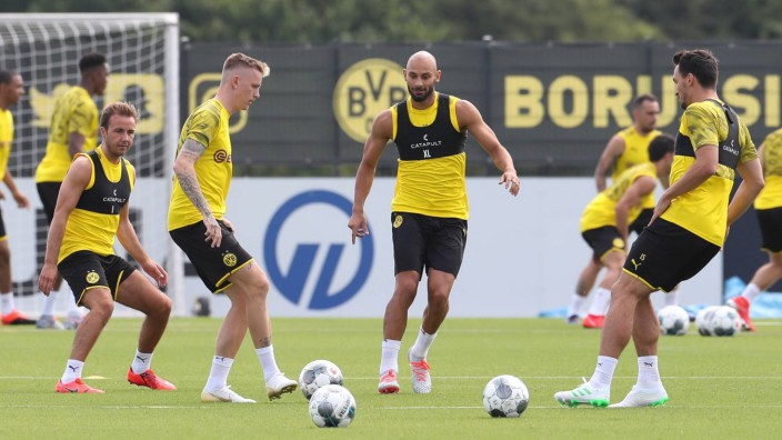 Fußball 1 Bundesliga Saison 2019 2020 05 07 2019 Training Borussia Dortmund v l Mario Goetz