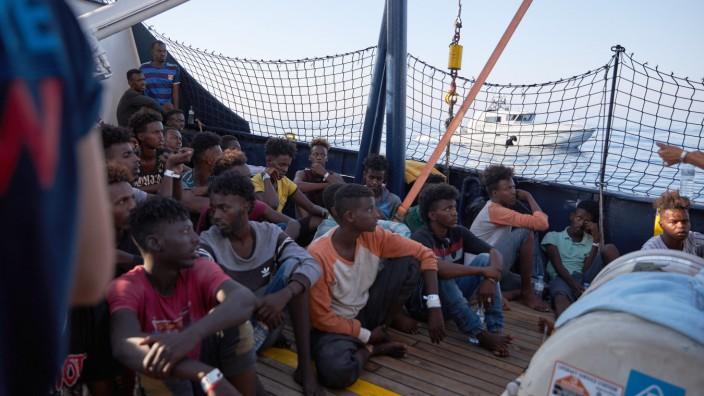 """Seenotrettung im Mittelmeer - ´Alan Kurdi"""""""
