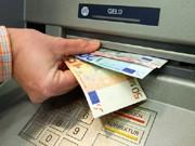 Geldautomat, dpa
