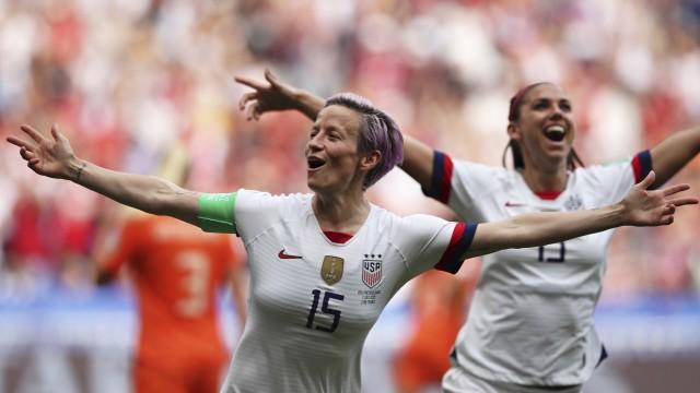 Fußball-WM der Frauen 2:0 gegen die Niederlande